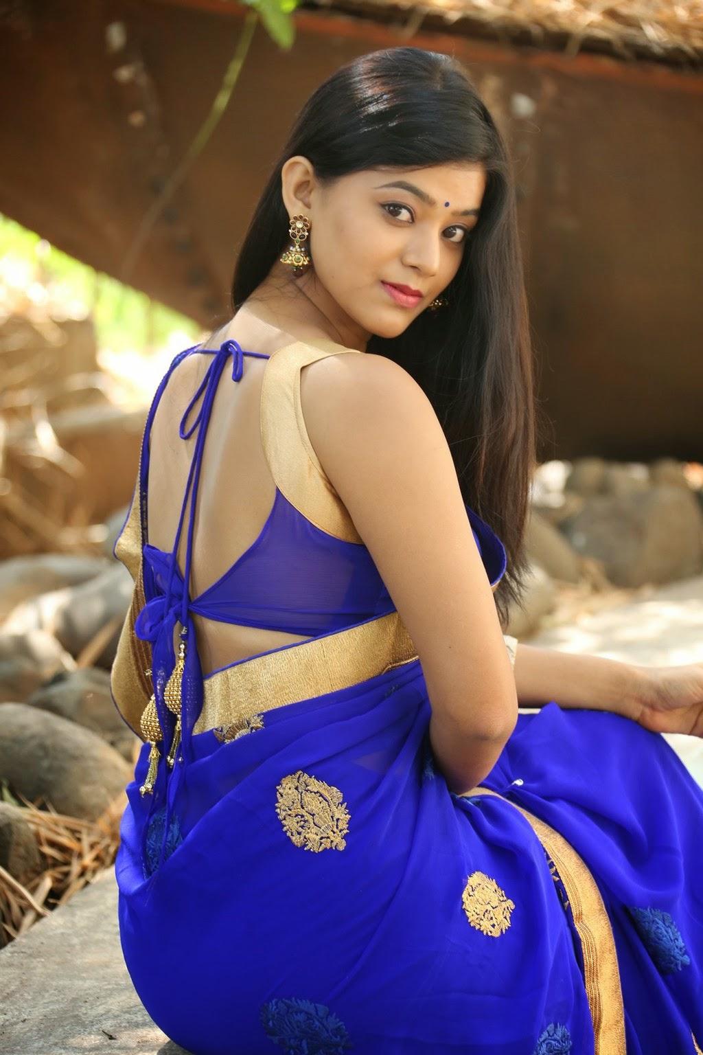 Yamini Bhaskar sexy in saree