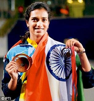 PV Sindhu — India's badminton heroine in Rio Olympics 2016