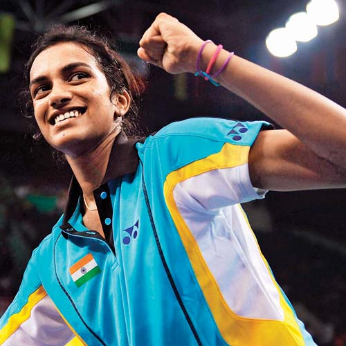 PV Sindhu badminton heroine in Rio Olympics 2016