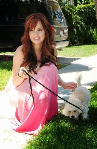 debby ryan hot sexy with dog