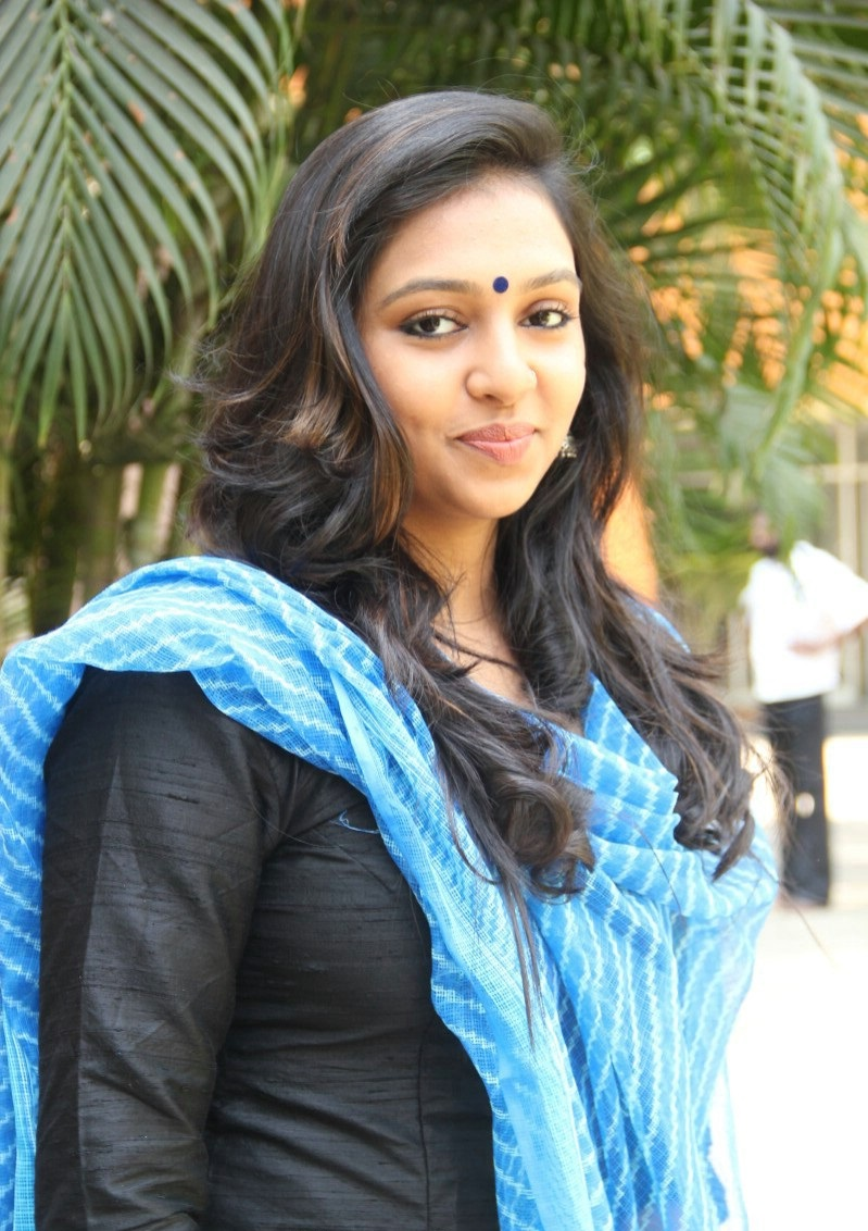 Lakshmi Menon New Stills At Komban Success Meet