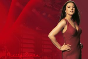 Preity Zinta topless wallpapers