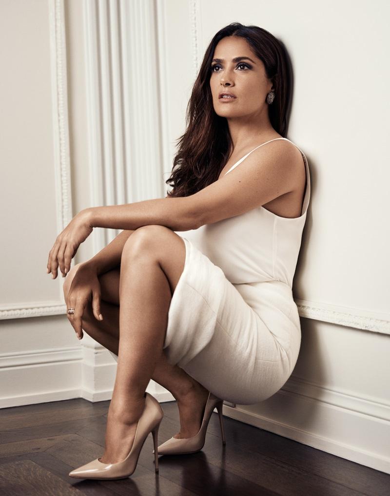 Salma Hayek Hot And Sexy Bikini Photos, Hd Images