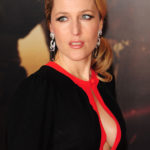 Gillian Anderson at Mission Impossible Ghost Protocol Premiere