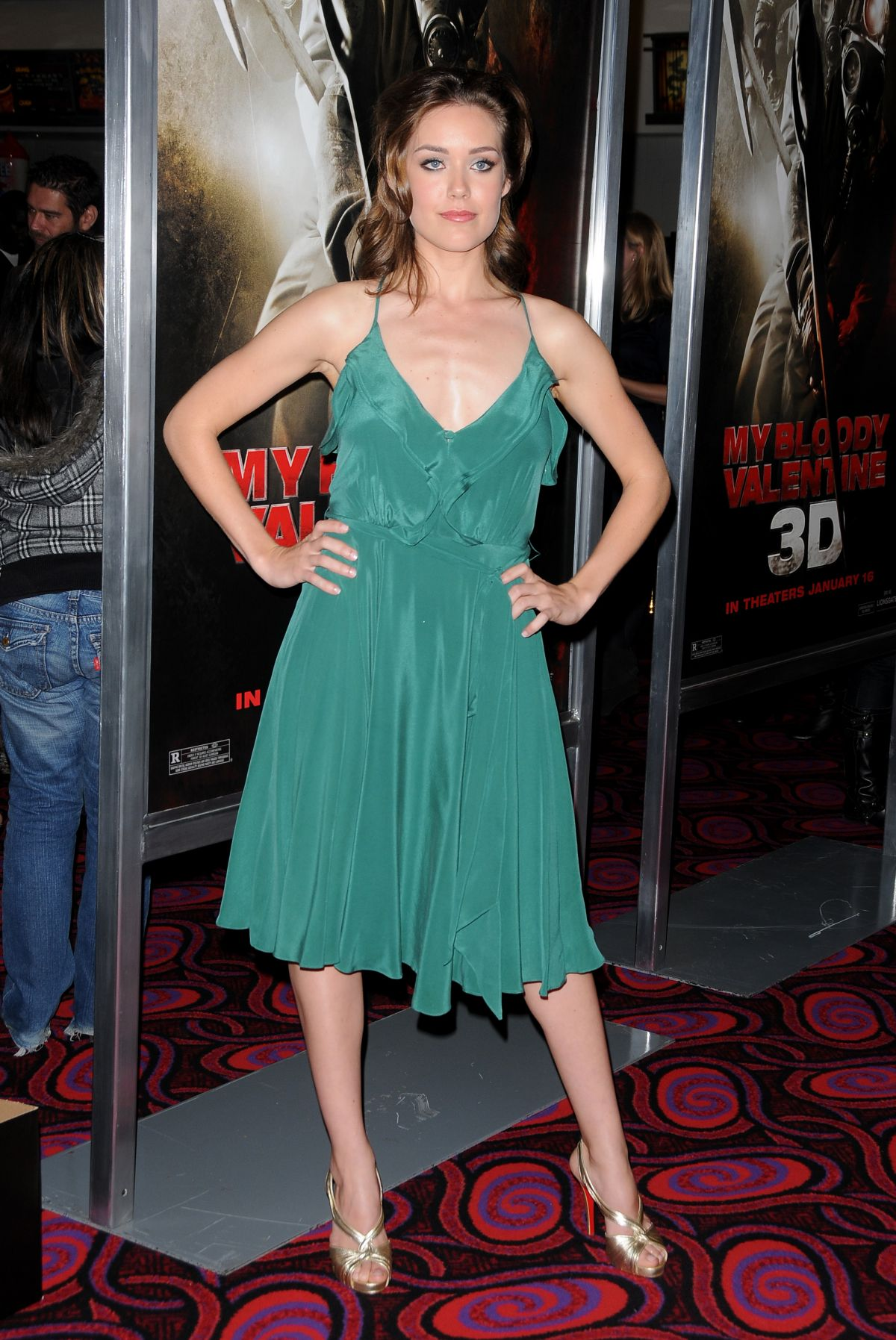 from Draven megan boone swimsuit photos